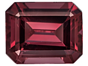 Garnet Rhodolite 10x8mm Emerald Cut 3.75ct