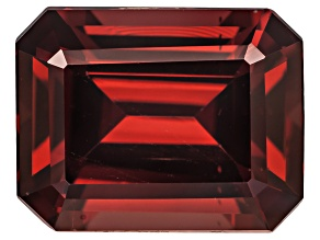 Garnet Raspberry Rhodolite 10x8mm Emerald Cut 3.50ct