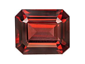 Rhodolite Garnet 13x11mm Emerald Cut 8.35ct