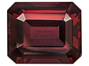 Garnet Rhodolite 14x12mm Emerald Cut 10.75ct