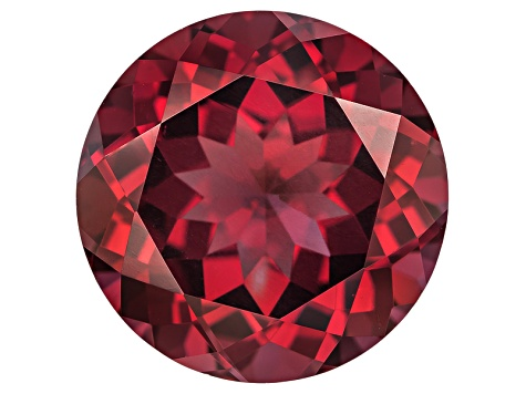 Garnet Raspberry Rhodolite 12mm Round 7.00ct