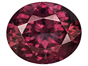 Garnet Raspberry Rhodolite 12x10mm Oval 5.50ct