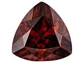 Red Zircon 10mm Trillion 4.00ct