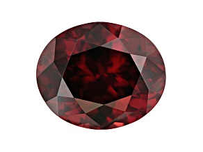 5.46ct Red Zircon 11.2x9.4mm Oval