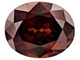4.14ct Red Zircon 10x8mm Oval