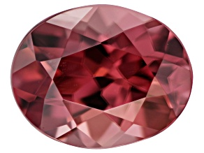 Red Zircon 9.5x7.5mm Oval 3.25ct