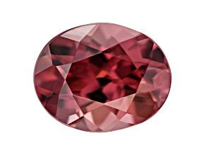 Red Zircon 9.5x7.5mm Oval 3.25ct