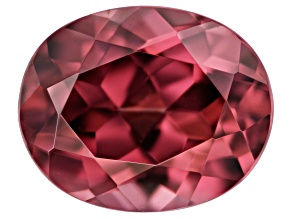Red Zircon 10x8mm Oval 4.00ct