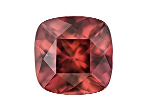 Red Zircon 7mm Square Cushion 1.95ct