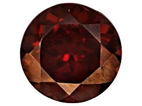 Red Zircon 9mm Round 4.00ct