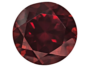 Red Zircon 10mm Round 5.00ct