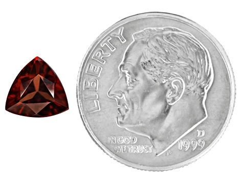 Red Zircon 7mm Trillion 1.65ct