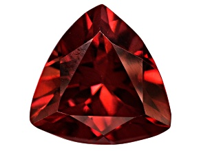 Red Zircon 8mm Trillion 2.25ct