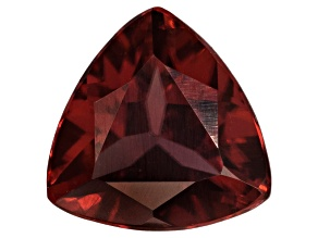 Red Zircon 6mm Trillion 1.10ct
