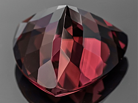 Red Zircon 12mm Trillion 8.00ct