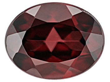 Picture of Red Zircon 9x7mm Oval 2.75ct