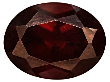 Picture of Red Zircon 8x6mm Oval 1.75ct