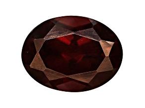 Red Zircon 8x6mm Oval 1.75ct
