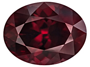 Red Zircon Oval 6.00ct Minimum