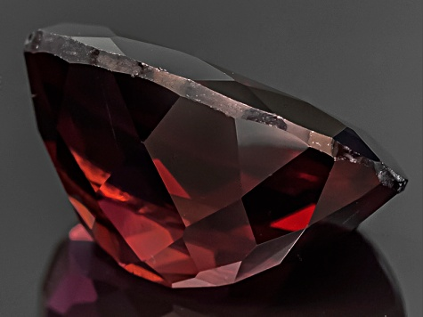 Red Zircon Oval 8.00ct