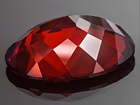 Red Zircon Oval 11.00ct