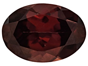 Red Zircon 7x5mm Oval 1.00ct