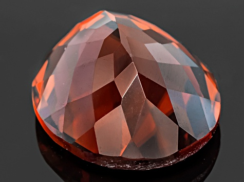 Red Zircon Oval 10.00ct