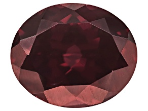 Red Zircon 11.5x9.5mm Oval 5.75ct