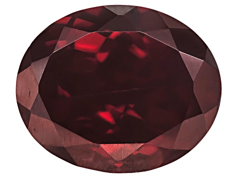 Red Zircon 12.5x10.5mm Oval 6.75ct