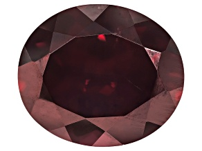 Red Zircon 14.5x12.5mm Oval 12.50ct