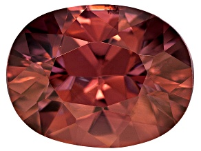 Blush Zircon 9x7mm Oval 2.50ct