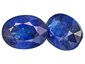 Sapphire 7x5mm Oval Matched Pair 1.75ctw
