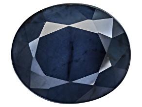 Blue Sapphire 11x13mm Oval 5.80ct