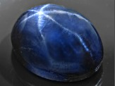 Sapphire Blue Star 9x7mm Oval Cabochon 4.00ct