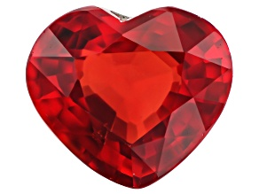 Diffused Corundum 7x6mm Heart 1.24ct