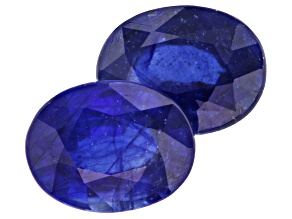 Sapphire 9x7mm Oval Matched Pair 4.75ctw