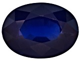 Sapphire 7x5mm Oval Mixed Step .75ct