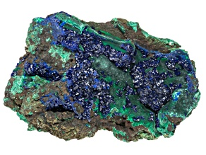 Azurite And Malachite Specimen 2 To 3 inch Diamater Free Form