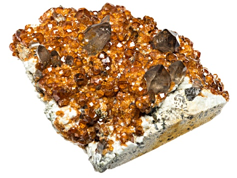 Spessartite Specimen 4.5 To 5.5 inches Free Form Crystal