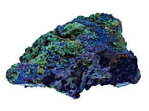 Azurite And Malachite Rough Specimen Medium Size Free Form