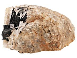 Schorl with Struverite Specimen