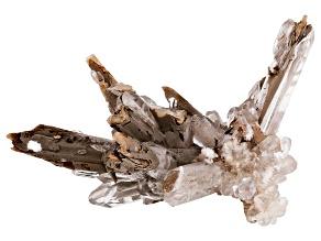 Calcite on Oyelite Specimen