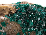 Dioptase Rough Specimen 6.7x4.3 Centimeters Free Form