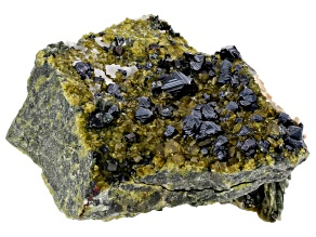 Magnetite with Vesuvianite Specimen