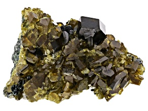 Andradite and Vesuvianite Specimen