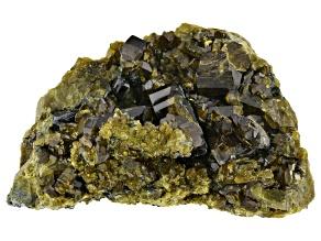 Vesuvianite with Magnetite and Diopside Specimen