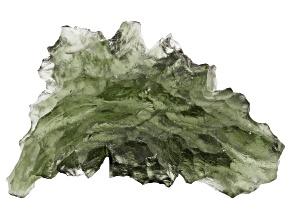 Moldavite Specimen 30.32x19.47mm 3.626g