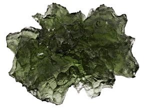 Moldavite 23.21x17.18mm Specimen 4.044g