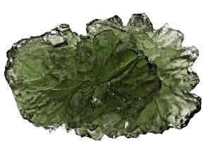 Moldavite 24.35x15.87mm Specimen 3.7g