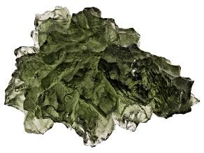 Moldavite 25.22x16.75mm Specimen 3.38g